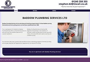 Baddow Plumbing by Chelmer Web Design