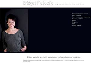 Bridget Metcalfe by Chelmer Web Design
