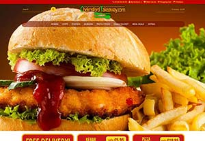 Chelmsford Takeaway by Chelmer Web Design